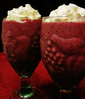 The Thirds (Blueberry Cherry) Smoothie